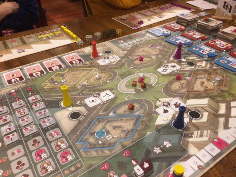 The Gallerist A Game By Vital Lacerda The Art Of: [Top Of The Table] An Original Work Of Art In A Crowded